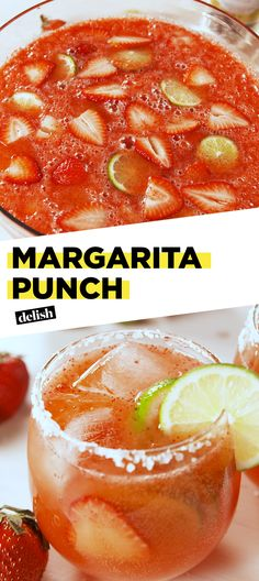 Margarita Punch will