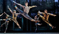 """CRITIC'S NOTEBOOK  Judging Tony Nominees by Their Dance Numbers     Sara Krulwich/The New York Times  A scene from """"Newsies,"""" choreographed by Christopher Gattelli.  By ALASTAIR MACAULAY  Published: May 28, 2012"""
