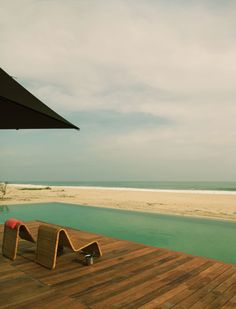 beach hut, lap pools, beaches, boutique hotels, mexico, wood decks, place, hotel escondido, raw beauty