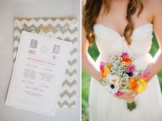 Colorful Backyard DIY Wedding: Becca + Orion
