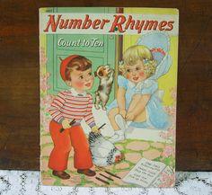 Vintage 1941 Florence Salter Book, Merrill Publishing, via Etsy.