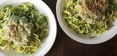 Warm Cauliflower Hemp Seed Pesto Recipe