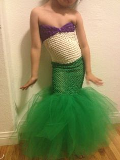 Little Mermaid Costume  by NatesParty on Etsy, $35.00 Must have a lil girl and make/get this!