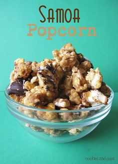 samoa popcorn...What? DS