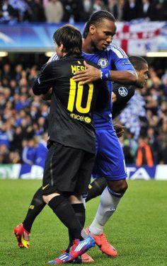 Didier Drogba (Ivory Coast) & Lionel Messi (Argentina) - Lengendary Footballers - #WorldCup #SoccerLegend #FutbolLegend #FootballLegend