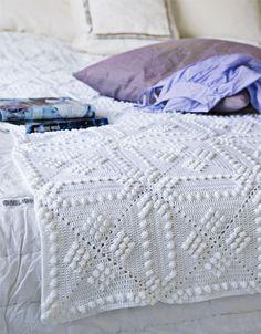 crochet blankets, beauti crochet, gorgeous pattern, crochet bedspread pattern, afghan