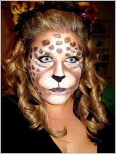 Animal Face Art, Beastly Makeup | Face Art, Portraits & Mug Shots  http://www.feezia.com/univers/accessoires-de-fete/maquillage-1/boite-de-12-crayons.html