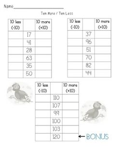 120 Hundreds Chart Puzzles and Activities
