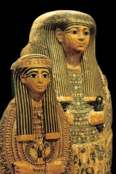 Egyptian Sarcophagi ~ British Museum
