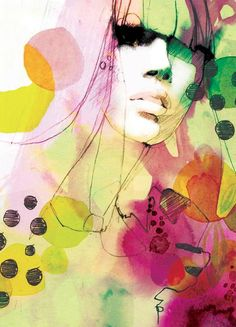line drawings, art stuff, graphic designers, color, mixed media, artist, ekaterina koroleva, artwork, fashion illustrations