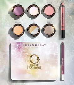 Introducing Urban Decay's new palette, inspired by Glinda from Disney's Oz The Great and Powerful - Read More at The Glossy> #Sephora #Disney