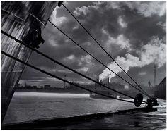New Orleans Waterfront, by Frederick B. Scheel 1957