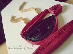 quilled coffee/tea cup