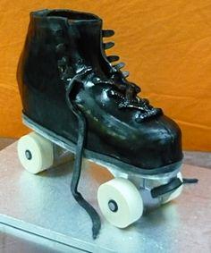 Roller skate cake need to try this roller skate cake design skate