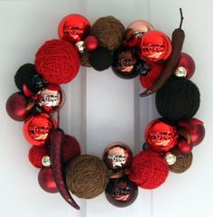 Red Hot Chili Peppers 14 inch wreath by brandensams on Etsy