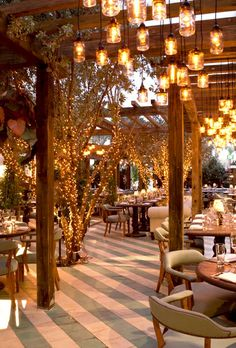 What a beautiful ambiance. Definitely     must try Cecconi's!