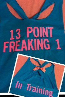 Half marathon training shirt. So cute!