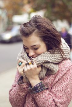 knits on knits. I can't wait for fall/winter!