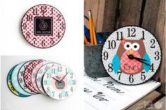 It's About Time - Teacher Clocks #teachergifts #wallclocks pickyourplum.com