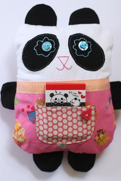 Cute and easy sewing project for kids..even if its for kids...i would still want one lol