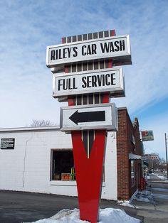 Riley's Car Wash...... Tiffin, Ohio.