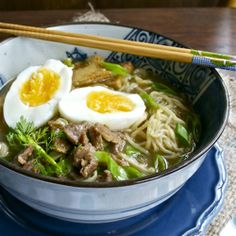 Happy Birthday Chinese Noodle Soup by adorasbox #Noodles #Soup #Chinese