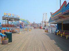 Boardwalk - Seaside Heights, New Jersey by JoeRocketh, via Flickr