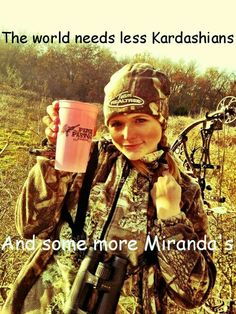 Maybe it's a Country Girl thing!