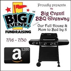 Win a BBQ or $200 Amazon Gift Card! WW 7/30  ** JUST WENT LIVE! ** Good luck!