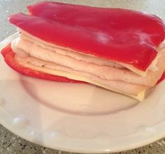 red bell pepper sandwich - Awesome! #gluten-free