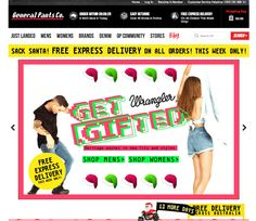General Pants Enhances In-Store Experience With Interactive Kiosks