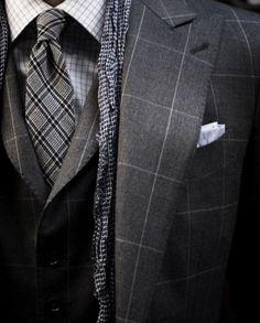 I want a plaid suit