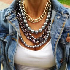 Chain and pearls