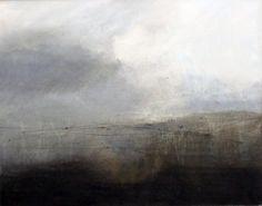 Helen Booth. Landcape Artist. Winter Light on Penbryn