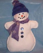 Learn to sew Snowman