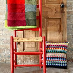Recycle Sweaters: Make a Throw