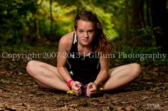 Girls Cross Country Senior Photo by J Gillum Photography. Taken on location, available across Indiana and throughout the Midwest.  www.jgillumphotography.com