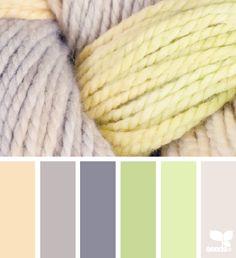 color yarn. Paint scheme