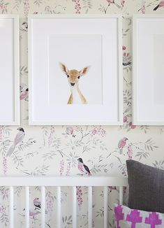 Baby Deer Joins Our Little Darlings Family in a Spring Inspired Nursery