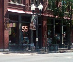 55 South, Franklin TN...went here for Aaron's birthday and it was great! If you go, try the brisket tacos!