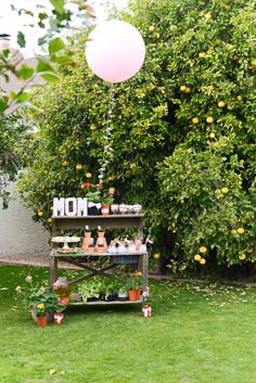 Mother's Day Garden Party | CatchMyParty.com