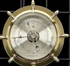 Nautical Barometer for my Nautical bedroom decco