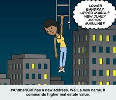 #AndheriGirl has a n