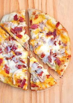 Homemade Bird Dog Pizza Recipe - She Wears Many Hats