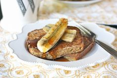 French Toast with Grilled Bananas - Against All Grain