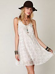 Love and Liberty 4 Embroidered Dress #freepeople #slip #fashion