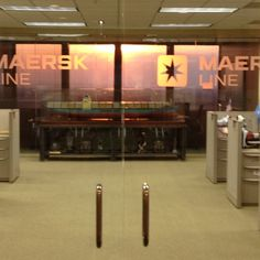 Nice setting for a Maersk Line scale model.