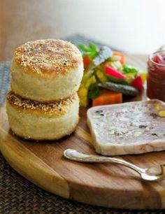 Buttermilk English Muffins by Chef Michael Fiorelli