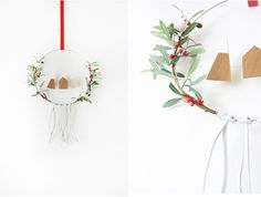 Scandinavian Inspired Christmas Wreath