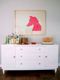 I want to make a pink dog silhouette painting...but it needs to be of my Weimaraner!! So Cute by meghan